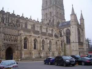 Gloucester Cathedral - nearly 1,000 years old!